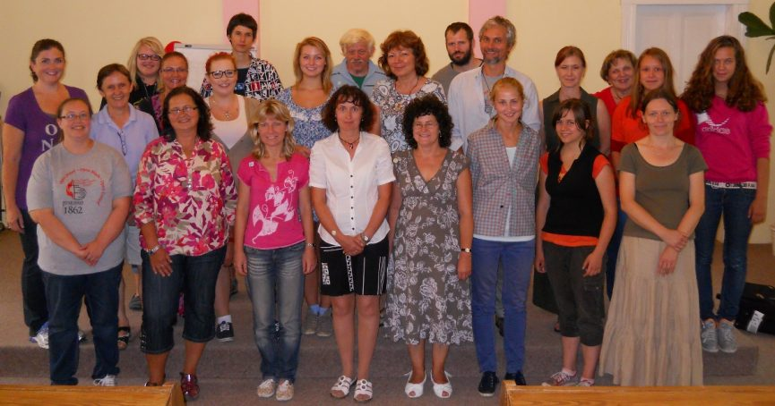 English speaking camp at Czech Republic