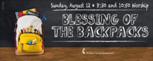 Blessing of the Backpacks 2018