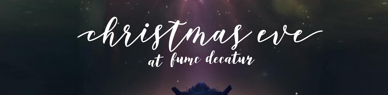 Christmas Eve worship 2018