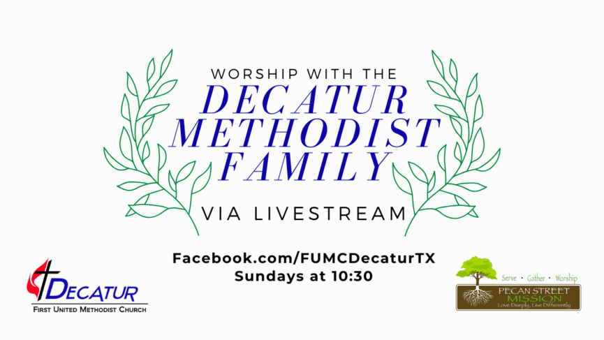 Decatur Methodist Church Live Stream